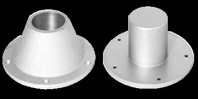 Aluminium Tischblattmontageplatte für Ausziehbarem Tischbein