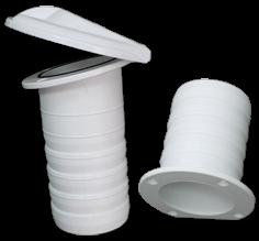 Kunststoff Drahtdurchmesser ( mit Klappe ) Schlauch durchmesser 79mm Kleppe Durchmesser 130mm Flan