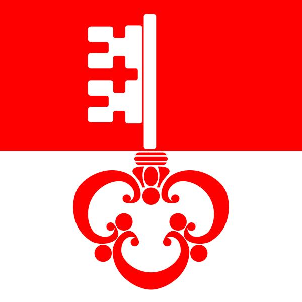 Obwalden Flagge 20x30cm