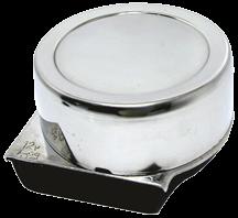 NIRO Elektromagnetische mini Signalhorn Einklang Ø82mm 12V