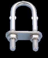 NIRO Pütting ( U-Bolzen ) Ø10mm