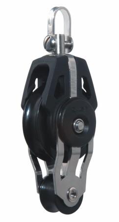 40mm Dynamic Kugellagerviolinenblock m.Wirbel