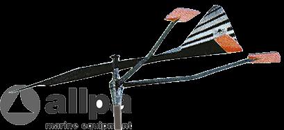 Kunststoff Racing-Verklicker Groß Modell ( Drehstift Ø8mm )