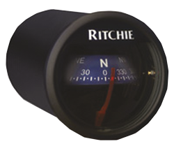Kompass Ritchiesport, X-21bu Armaturenbrettmontage Blau